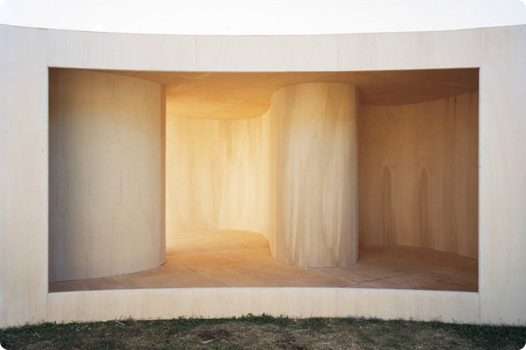 Temporary Museum (Lake) by Anne Holtrop