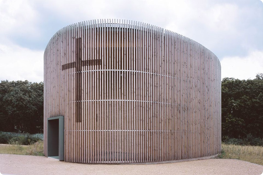 Chapel of Reconciliation by Reitermann and Sassenroth