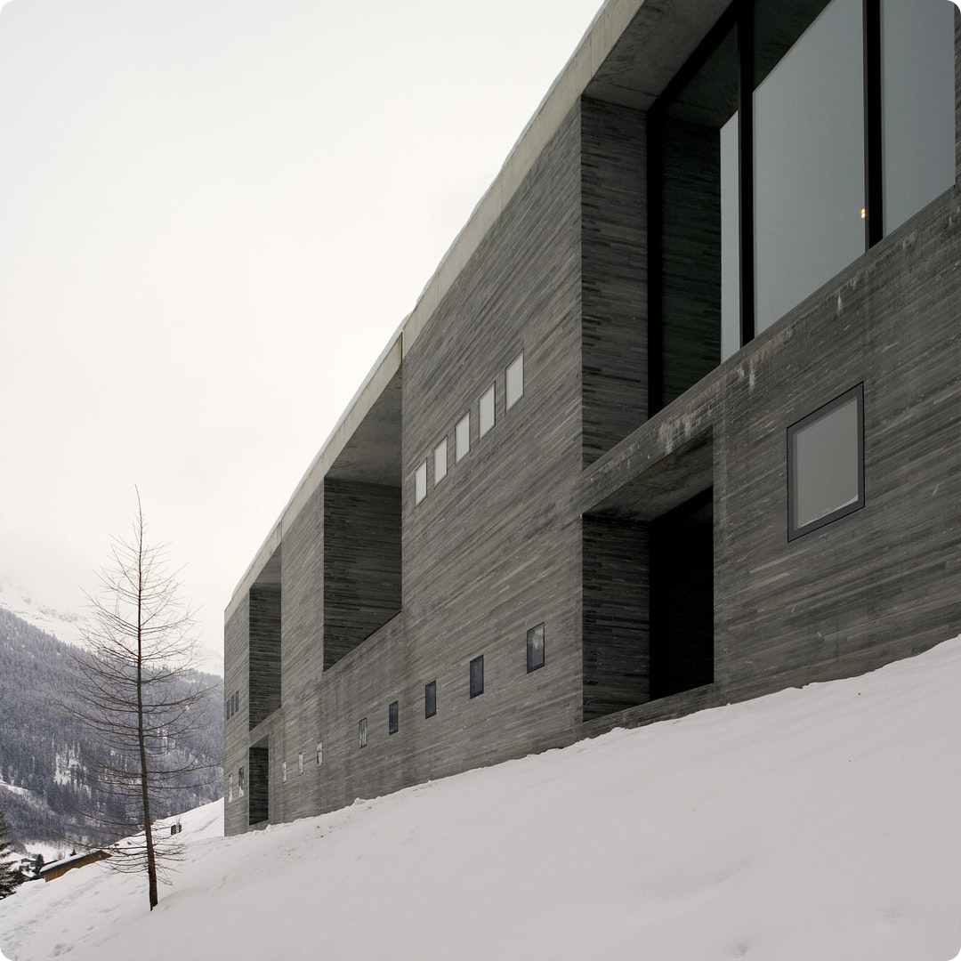 Thermal Baths in Vals by Peter Zumthor