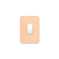 A4 Leather Mouse Pad Natural