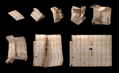 """Researchers Use X-Ray Technology to Read """"Letterlocked"""" Historical Correspondences"""