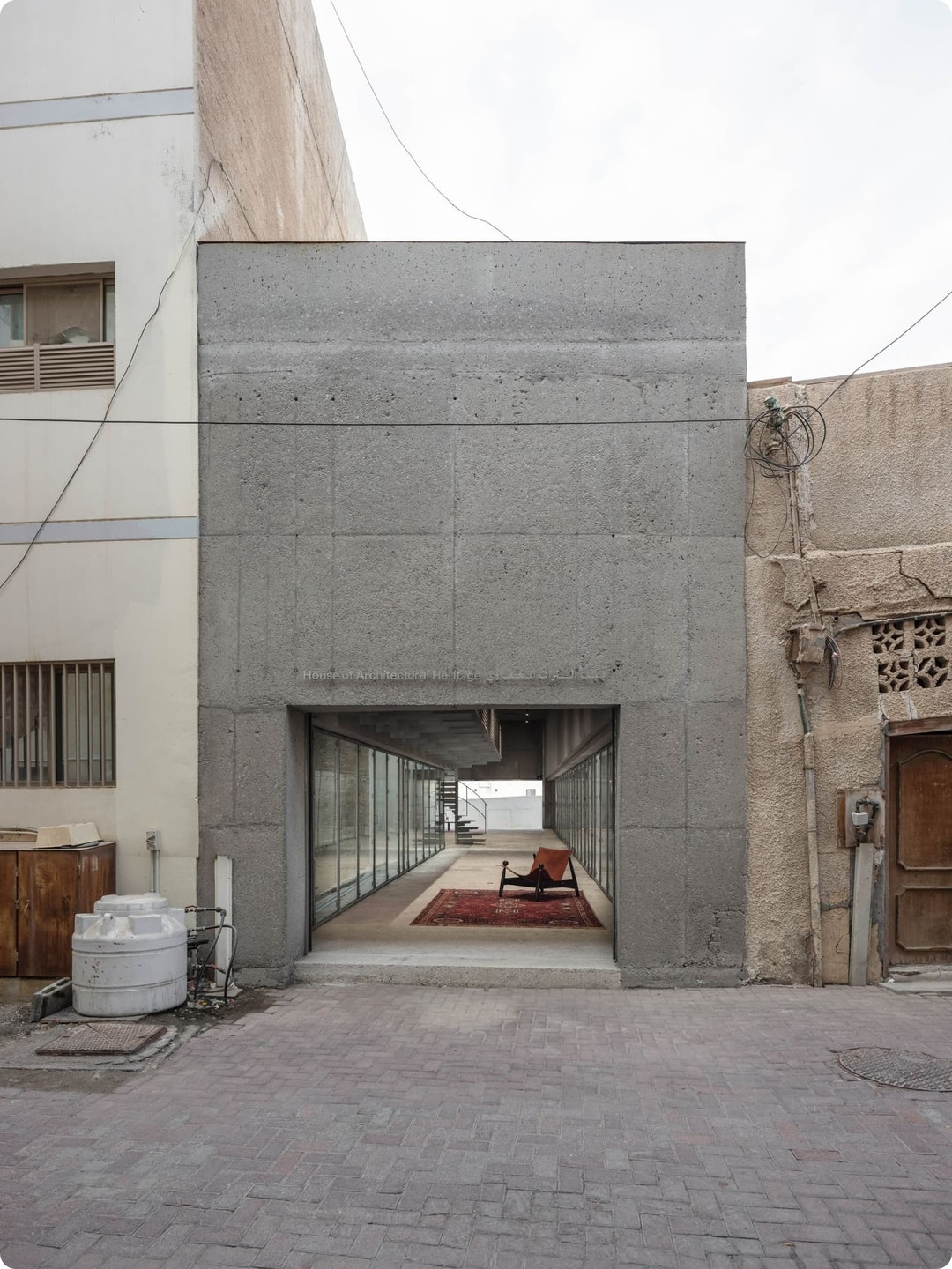 House for Architectural Heritage by Noura Al Sayeh and Leopold Banchini Architects