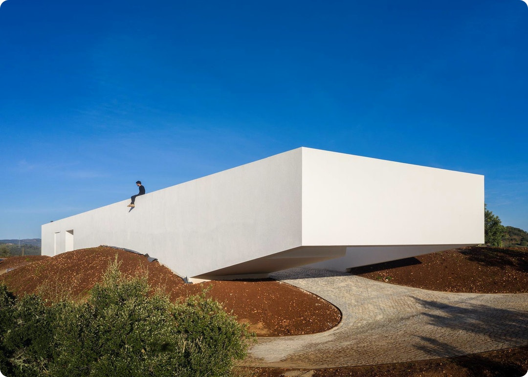 House in Messines by Vitor Vilhena Architects