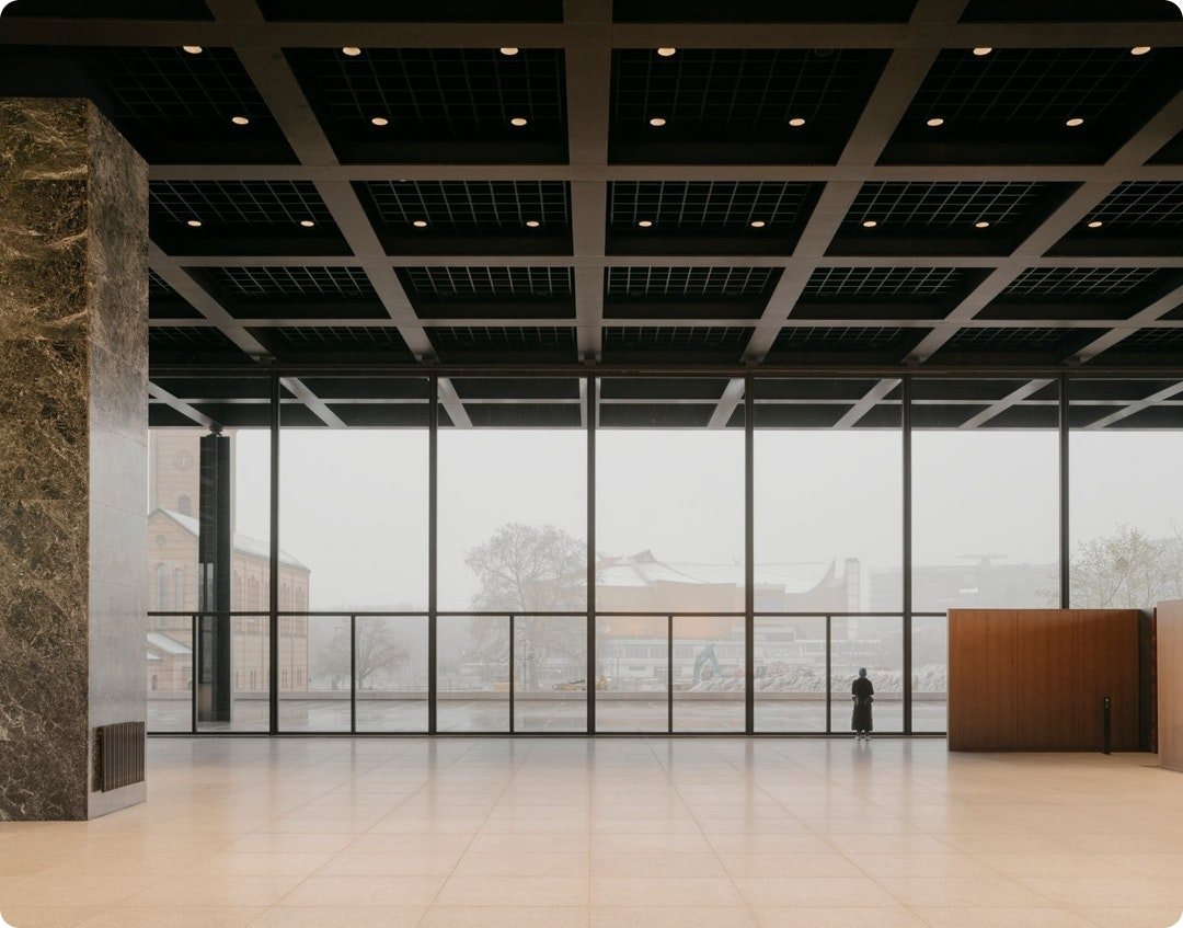 Renovation of Neue Nationalgalerie by David Chipperfield Architects