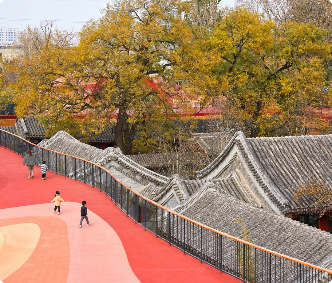 YueCheng Courtyard Kindergarten by MAD Architects