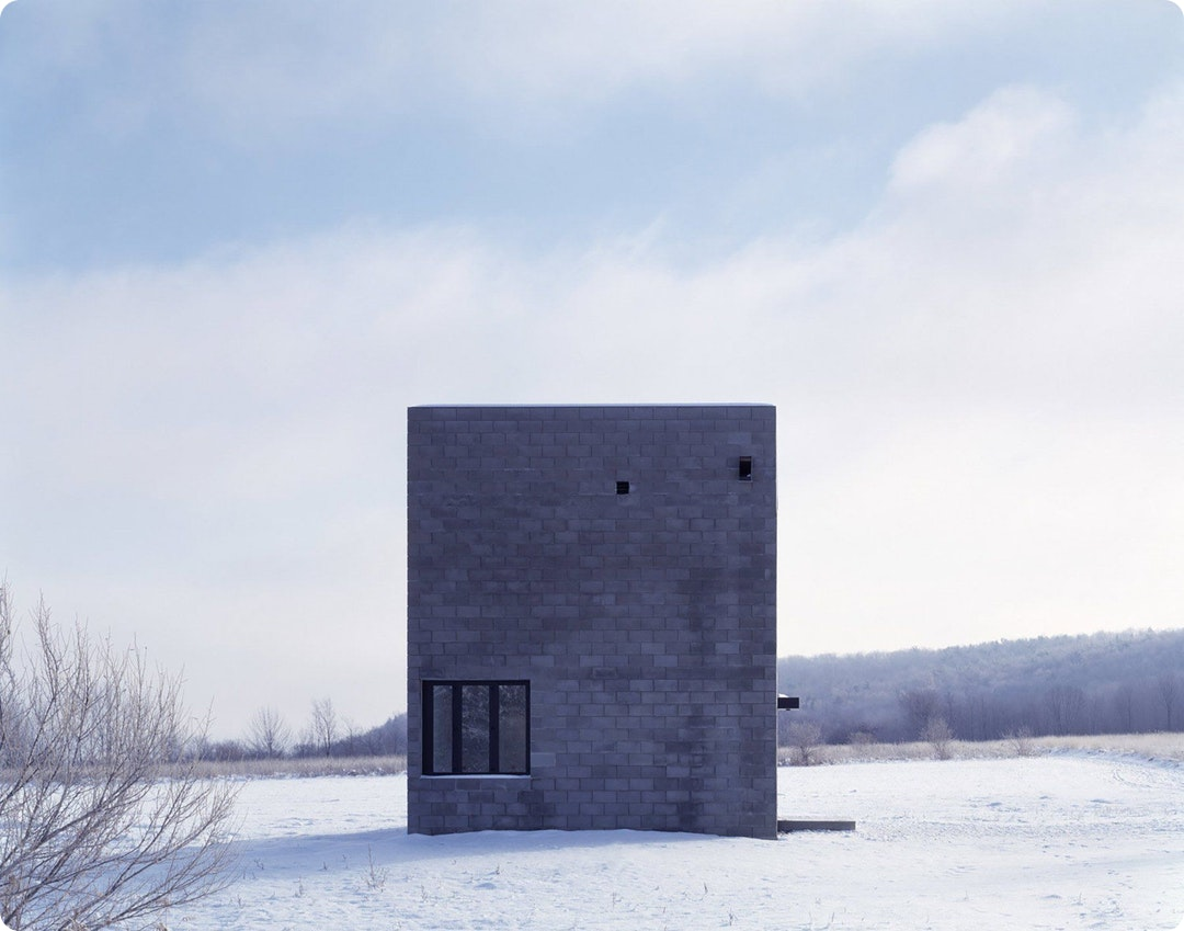 Cube House in Ithaca by Simon Ungers