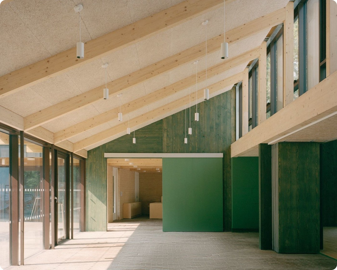 Community centre by Mae Architects